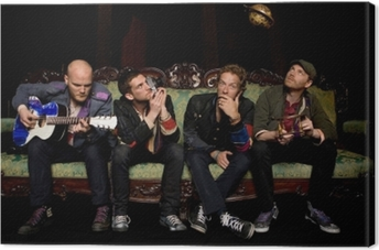 Coldplay Canvas Print