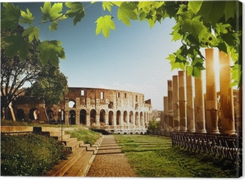 Colosseum in Rome, Italy Canvas Print
