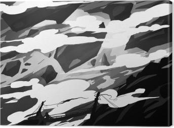 Concept art Canvas Print