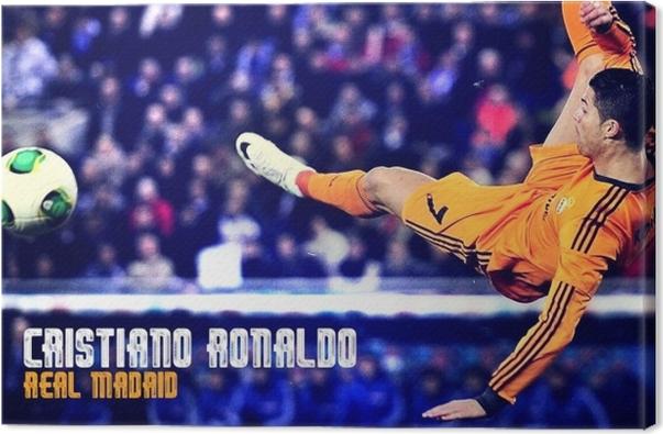 Cristiano Ronaldo Canvas Print - Cristiano Ronaldo