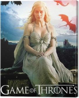 Daenerys Targaryen Canvas Print