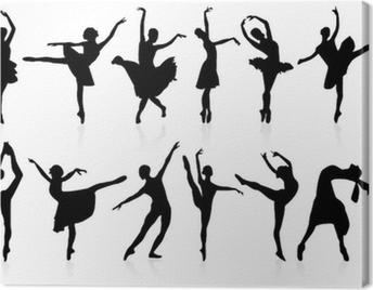 danse classique Canvas Print