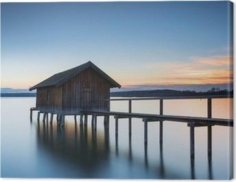 Das Haus am See Canvas Print