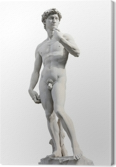 David by Michelangelo Canvas Print