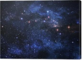 Deep space nebulae Canvas Print