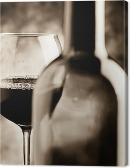 degustazione vino - wine tasting Canvas Print