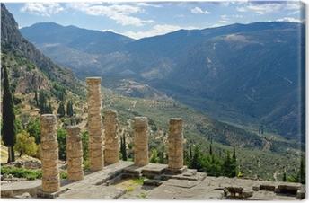 Delphi, Greece Canvas Print