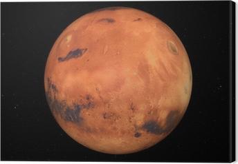 Der Mars Canvas Print