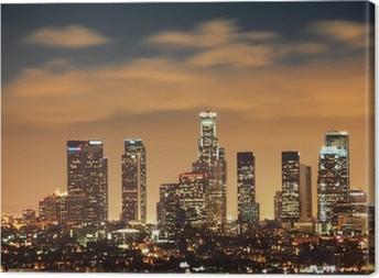 Downtown Los Angeles skyline Canvas Print