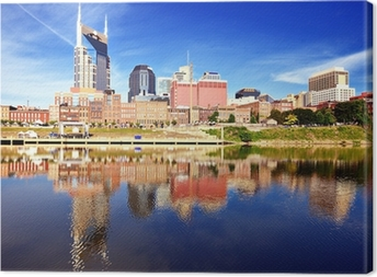 Downtown Nashville Canvas Print