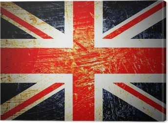 drapeau anglais Canvas Print