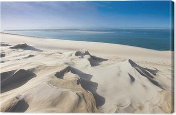 dune du pyla près d'arcachon Canvas Print
