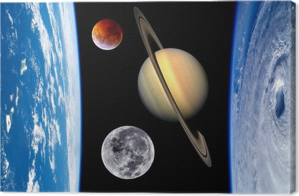 earth fantasy planets universe canvas print pixers we live to