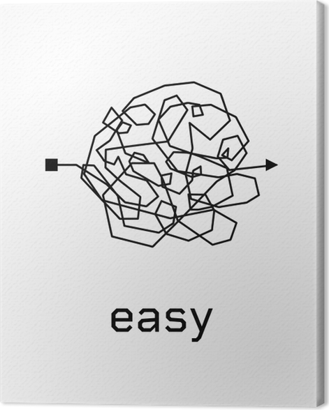 Easy Canvas Print - Motivations