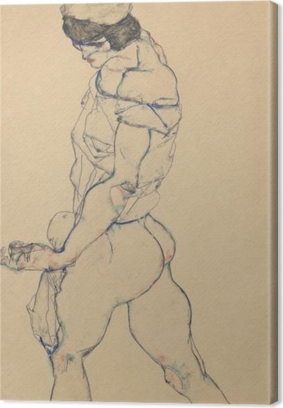 Egon Schiele - The Pacer Canvas Print - Reproductions