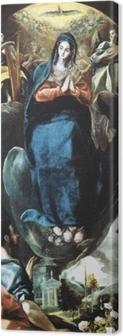 El Greco - Maria Immaculata Canvas Print