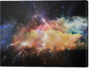 Emergence of Space Canvas Print