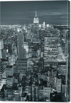 Empire State Building closeup Canvas Print