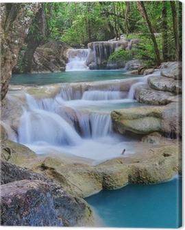 Erawan Waterfall, Kanchanaburi, Thailand Canvas Print