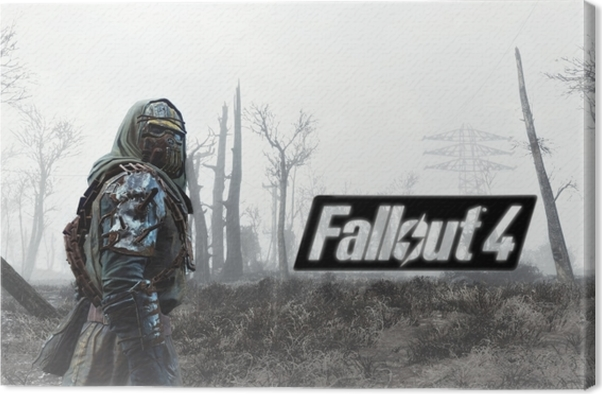 Fallout 4 Canvas Print - Themes