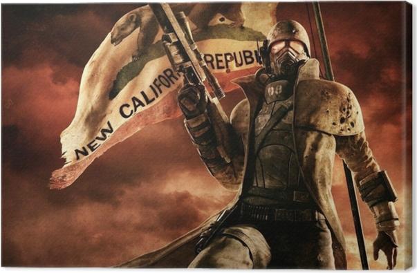 Fallout Canvas Print - Themes
