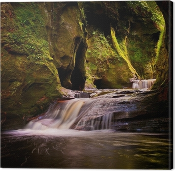 Finnich Glen Canvas Print