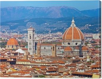 Florence Cityscape Canvas Print