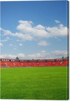football field Canvas Print