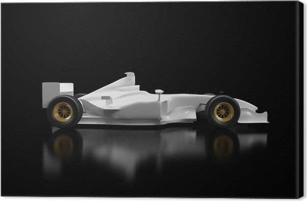 Formula 1 car canvas print