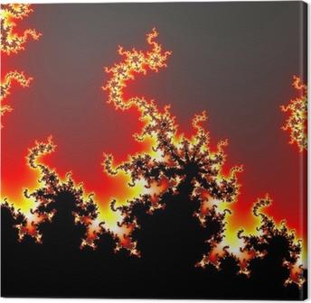 Fractale Canvas Print
