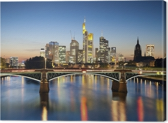 Frankfurt am Main. Canvas Print