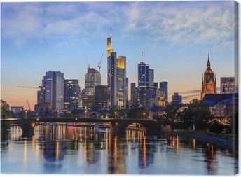 Frankfurt Skyline, Germany Canvas Print