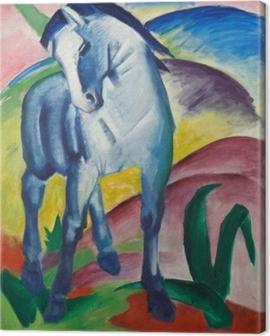 Franz Marc - Blue Horse Canvas Print