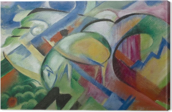 Franz Marc - The Sheep Canvas Print - Reproductions