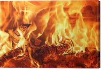 fuoco Canvas Print