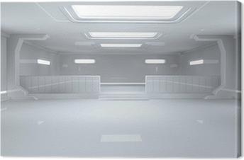 Futuristic architecture Canvas Print