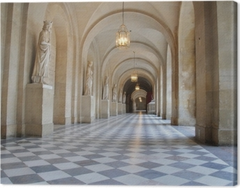 galerie du chateau de versaille Canvas Print