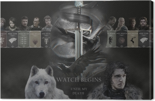 Game of Thrones Canvas Print - Themes