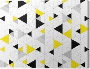 Geometric Pattern Background Canvas Print