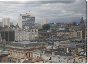 Glasgow Cityscape Canvas Print