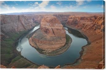 Grand Canyon, Horse Shoe Bend Canvas Print