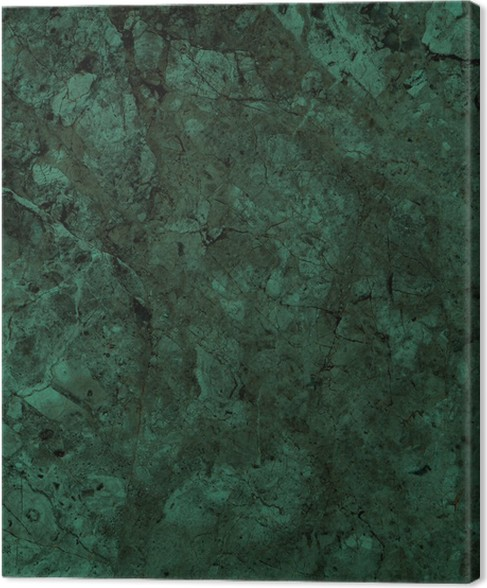 Green Marble Texture Background High Resolution Canvas Print