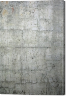 grunge concrete texture background Canvas Print