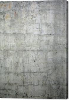 grunge concrete texture background Canvas Print