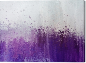 Grunge purple abstract texture background. Canvas Print