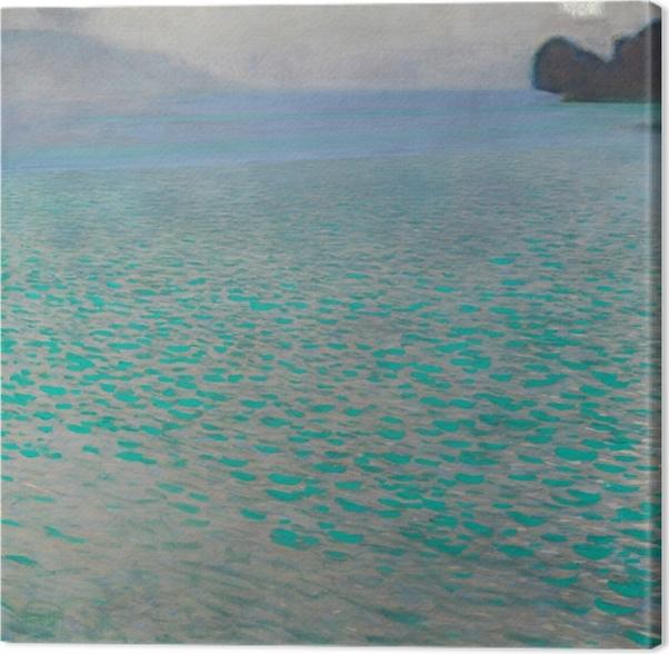 Gustav Klimt - Attersee Lake Canvas Print - Reproductions