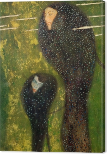 Gustav Klimt - Mermaids Canvas Print - Reproductions