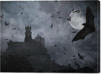 halloween background Canvas Print