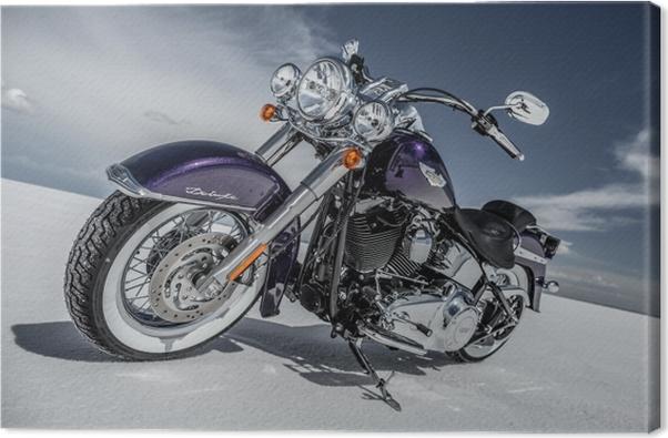 Harley Davidson Canvas Print - Themes