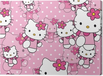 Hello Kitty Canvas Print